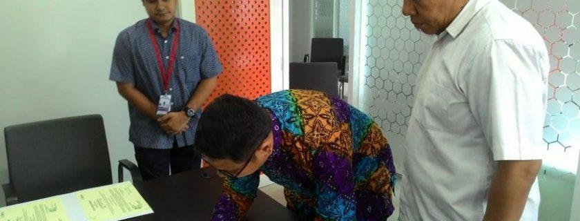 Penandatanganan Mou Dan Pks Antara Fakultas Teknik Dan PT. United Tractor Serta PT. Astra Honda Motor Indonesia