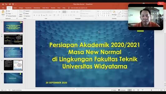 Rapat Pleno Fakultas Teknik September 2020