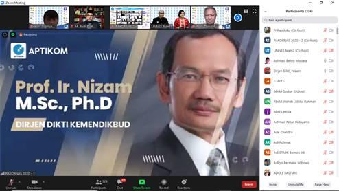 Rapat Koordinasi Nasional Fakultas Teknik Universitas Widyatama Bersama Asosiasi Perguruan Tinggi Komputer (Aptikom)