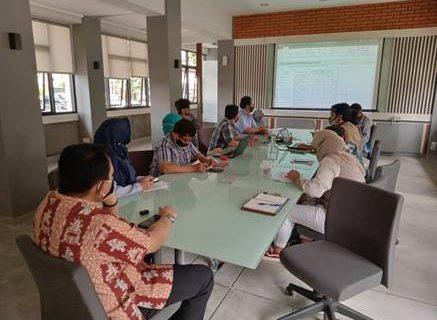 Rapat Koordinasi Fakultas Teknik Dan Tim Penyusun Borang  Kriteria 9 Teknik Sipil