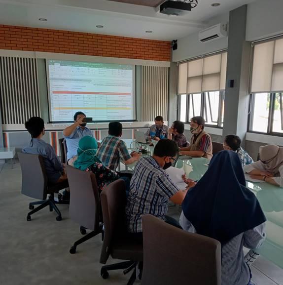 Paparan progres Borang Akreditasi Program Studi Teknik Sipil