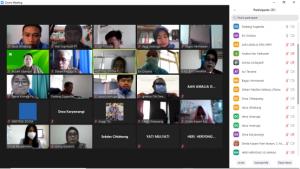 Pertemuan Melalui Daring, Universitas Widyatama dan Pihak Kecamatan Parongpong